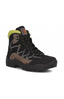Ботинки Forester 3696-V31 унисекс (чёрный/серый)