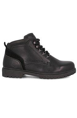 Мужские ботинки тимберленды Forester 755-27 (чёрный)