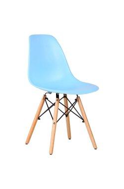 Стул Aster PL Wood Пластик Голубой - AMF - 521816