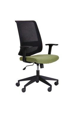 Кресло Carbon LB черный/зеленый - AMF - 521190