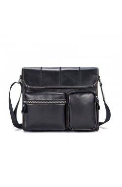 Мужская сумка через плечо B10-380, черная Черный