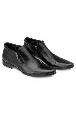 Ботинки мужские Carlo Delari 7134252 цвет черный, кожа