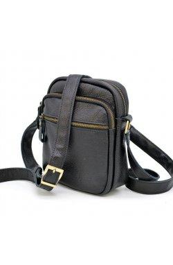 Небольшая сумка через плечо из кожи флотар FA-8086-3mda Черный