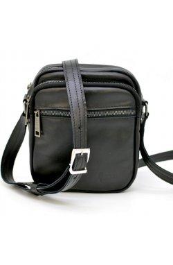 Мужская кожаная сумка через плечо GA-8086-3mdb TARWA Черный