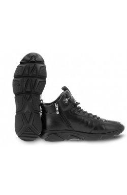 Ботинки мужские Clemento 7194303 цвет черный, кожа