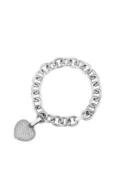 Серебряный браслет звено .5 из родированного серебра 925-й пробы (511346 )