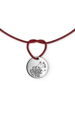 Шелковый браслет танцуй из родированного серебра 925-й пробы (51 29 )