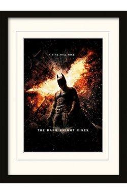Постер The Dark Knight Rises (A Fire Will Rise) - wos7786