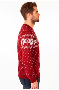 Светр Різдвяний з зірками чоловічий