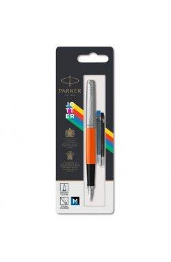 Ручка перьевая Parker JOTTER 17 Plastic Orange CT FP M блистер 15 416, Корпус - Оранжевый