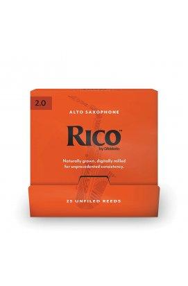 Тростини для духових D`ADDARIO RJA0120-B25 Rico by D'Addario - Alto Sax # 2.0 - 25 Box