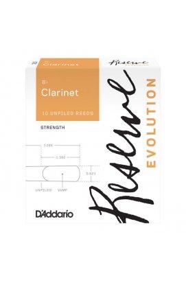 Тростини для духових D`ADDARIO DCE1035 Reserve Evolution Bb Clarinet # 3.5 - 10 Box
