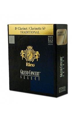 Тростини для духових RICO Grand Concert Select - Bb Clarinet # 2.5