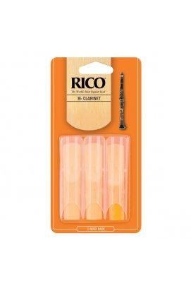 Тростини для духових RICO Rico - Bb Clarinet # 3.0 - 3-Pack