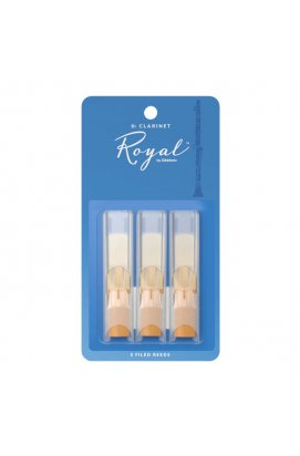 Тростини для духових D`ADDARIO RCB0330 Royal - Bb Clarinet # 3.0 - 3-Pack