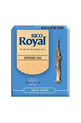 Трости для духовых RICO Rico Royal - Soprano Sax #2.5 - 10 Box