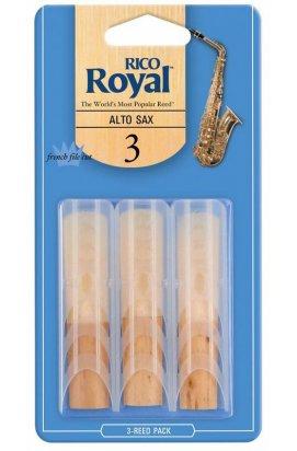 Тростини для духових RICO Rico Royal - Alto Sax # 3.0 - 3-Pack