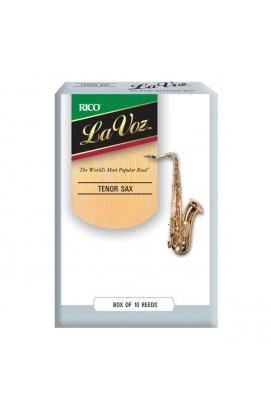 Тростини для духових RICO La Voz - Tenor Sax Medium Hard