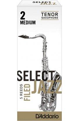 Тростини для духових D`ADDARIO RSF05TSX2M Select Jazz - Tenor Sax Filed 2M