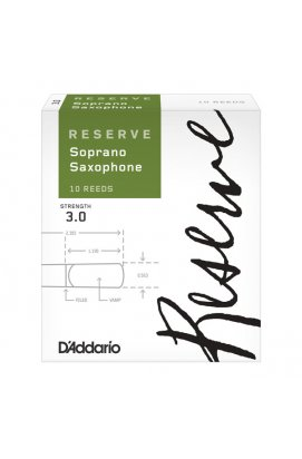 Трости для духовых D`ADDARIO Reserve - Soprano Sax #3.0 - 10 Box