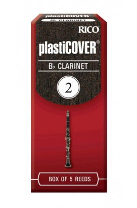 Тростини для духових RICO Plasticover - Bb Clarinet # 2.0
