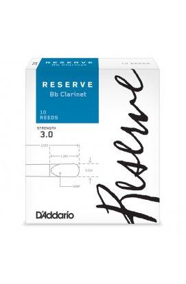 Тростини для духових D`ADDARIO DCR1030 Reserve Bb Clarinet # 3.0 - 10 Box