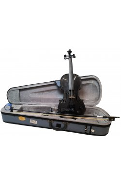 Скрипка STENTOR 1515/ABK Harlequin Electric Violin Outfit 4/4 (Black)
