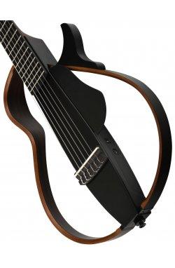 Silent гитара YAMAHA SLG200N (TBLK)