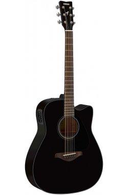 Электро-акустическая гитара YAMAHA FGX800C (BL)