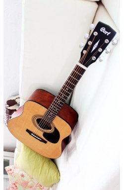 Электро-акустическая гитара CORT AD810E (OP)