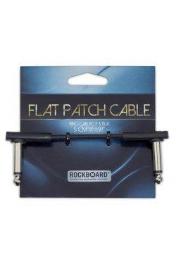 Кабель ROCKBOARD RBOCABPC F5 BLK FLAT PATCH CABLE