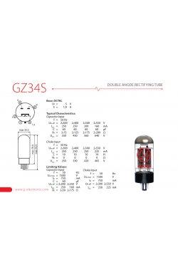 Лампа для усилителя JJ ELECTRONIC GZ34S - 5AR4