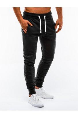 Чоловічі спортивні штани P867 - чорні - Ombre