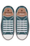 Прямые силиконовые антишнурки для кроссовок и кед