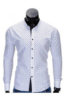 Рубашка мужская R314 - Белый