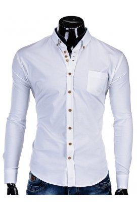 Рубашка мужская R302 - Белый