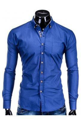 Рубашка мужская R302 - светло - Синий