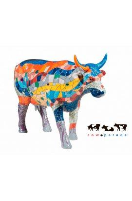 """Коллекционная статуэтка корова """"Barcelona"""" - wos5810"""