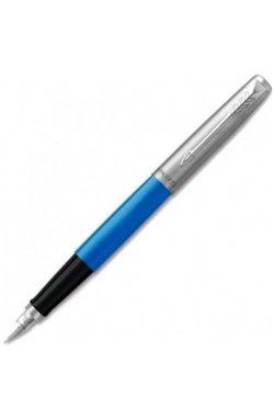 Ручка перьевая Parker JOTTER 17 Plastic Blue CT FP F 15 111, Корпус - Синий, Франция