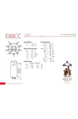 Лампа для усилителя JJ ELECTRONIC E88CC Gold Pin