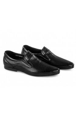 Туфли мужские Carlo Delari 7202086 цвет черный, кожа