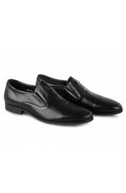 Туфли мужские Carlo Delari 7202092 46 цвет черный, кожа