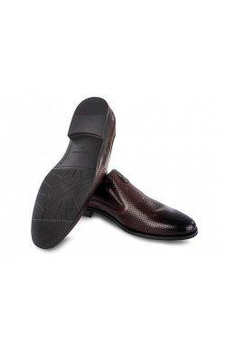 Туфли мужские Carlo Delari 7202093 46 цвет тёмно-коричневый, кожа