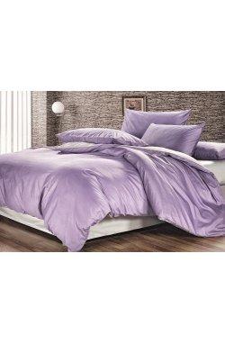 Комплект постельного белья сатин-люкс лиловый