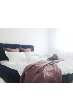 Комплект постельного белья сатин-люкс слоновая кость