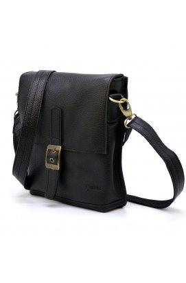 Мужская кожаная сумка-мессенджер FA-7157-3md TARWA Черный