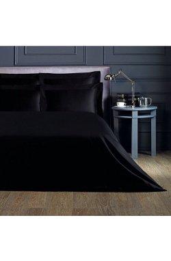 Комплект постельного белья сатин-люкс чорний
