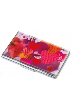 Визитница Heartful на 11 карточек - wos3448