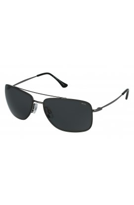 Мужские солнцезащитные очки INVU P1010B - прямоугольные, Цвет линз - дымчатый