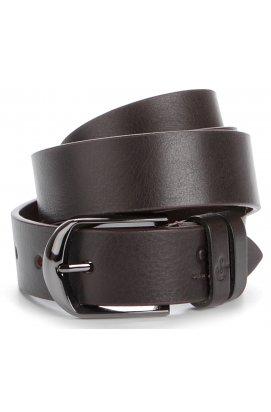 Стильный кожаный ремень итальянского качества GRANDE PELLE 00770 Коричневый, Коричневый